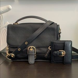 Michael Kors Cooper satchel and French purse set